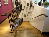 escalier chêne débillardé