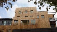 Brises soleil robinier Ecole Ollivier de Serres Paris