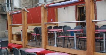 Terrasse du restaurant Le Cancalais