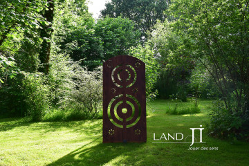 Panneaux décoratifs et ludiques  pour jardins d'ornement