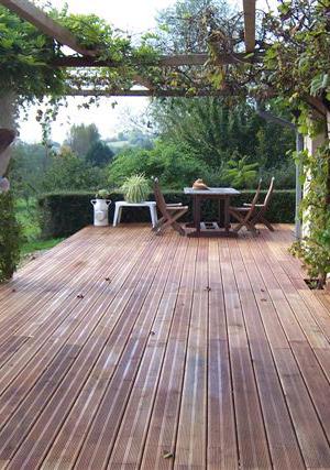 GROUAZEL - aménagements extérieurs bois : terrasses platelages